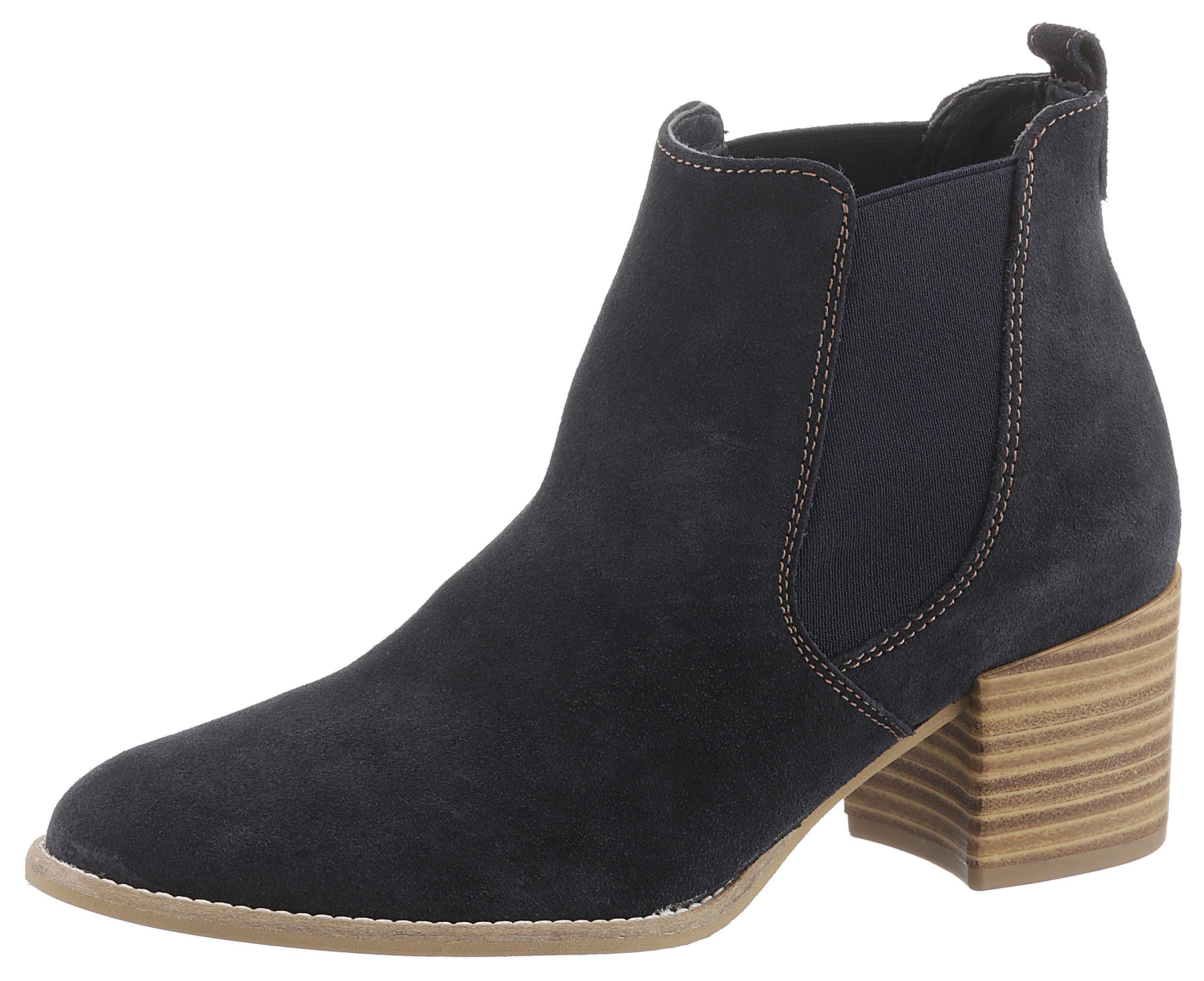 Tamaris Westernstiefelette Paula | Schuhe > Stiefel > Westernstiefel | Blau | Tamaris
