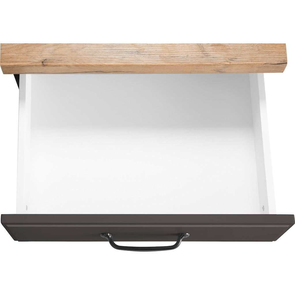 wiho Küchen Unterschrank »Erla«, 50 cm breit mit Kassettenfront