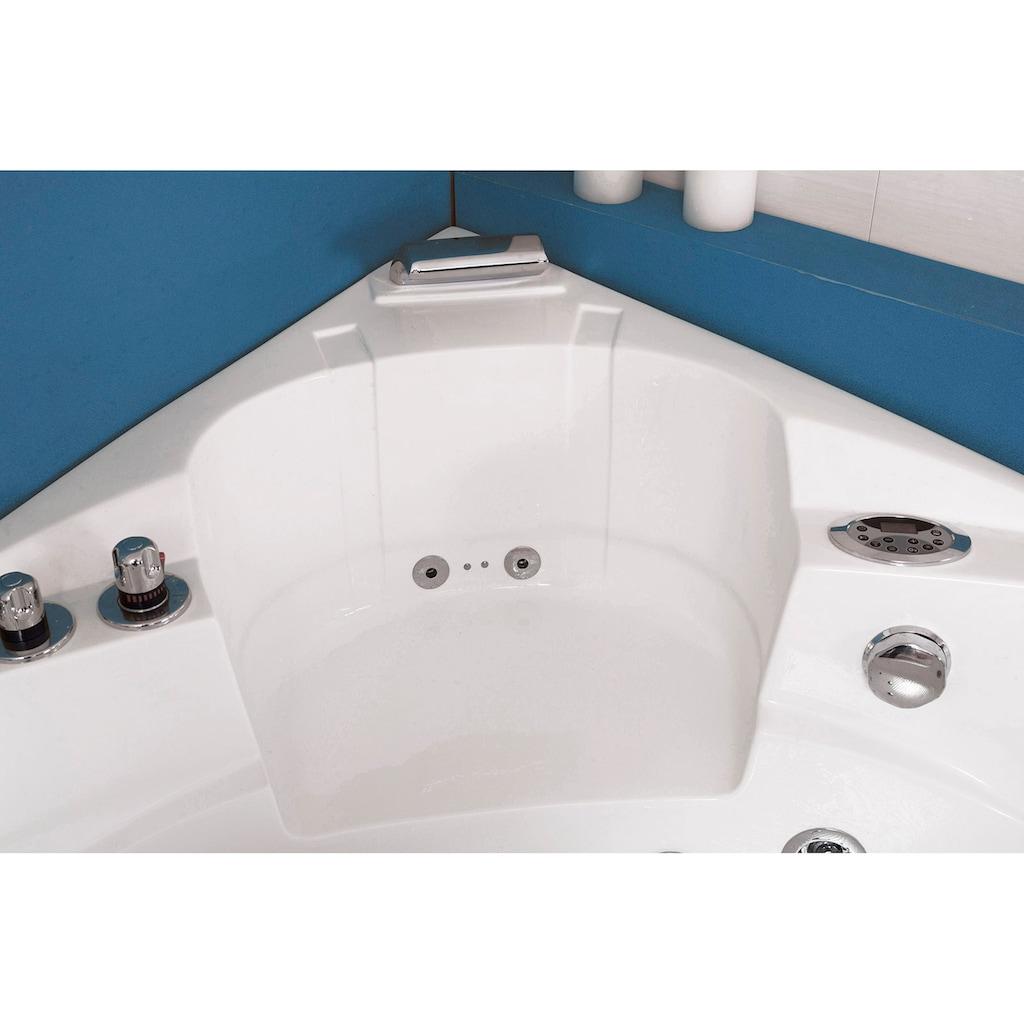 HOME DELUXE Whirlpool-Badewanne »White L Mini«, B/T/H in cm: 135/135/66