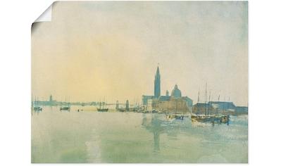 Artland Wandbild »Morgenstimmung in Venedig.« kaufen