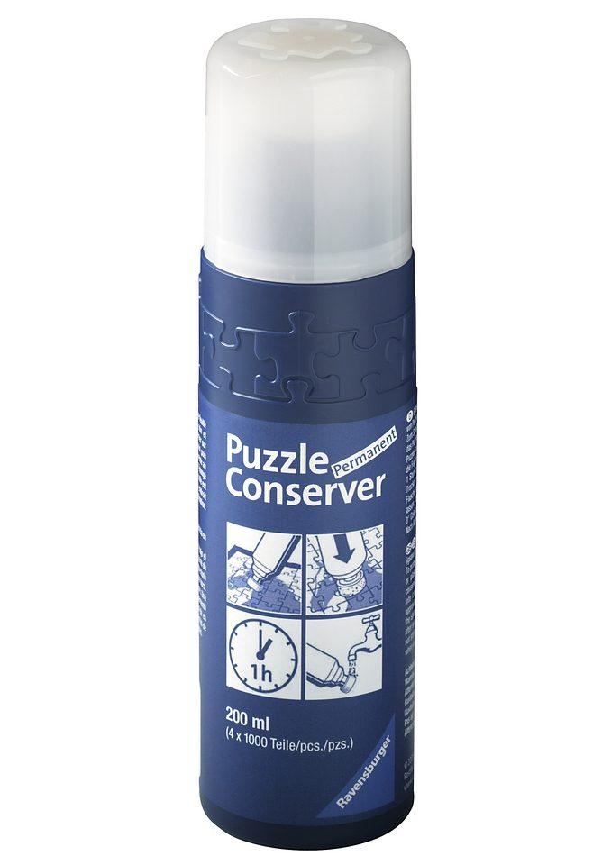 Ravensburger Klebstoff Conserver, 200 ml, Made in Germany; FSC - schützt Wald weltweit (ohne farbbezeichnung) Kinder Puzzle-Zubehör Puzzle Gesellschaftsspiele