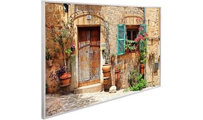 Papermoon Infrarotheizung »Charming Street, EcoHeat«, Aluminium, 600 W, 100x60 cm, mit... kaufen
