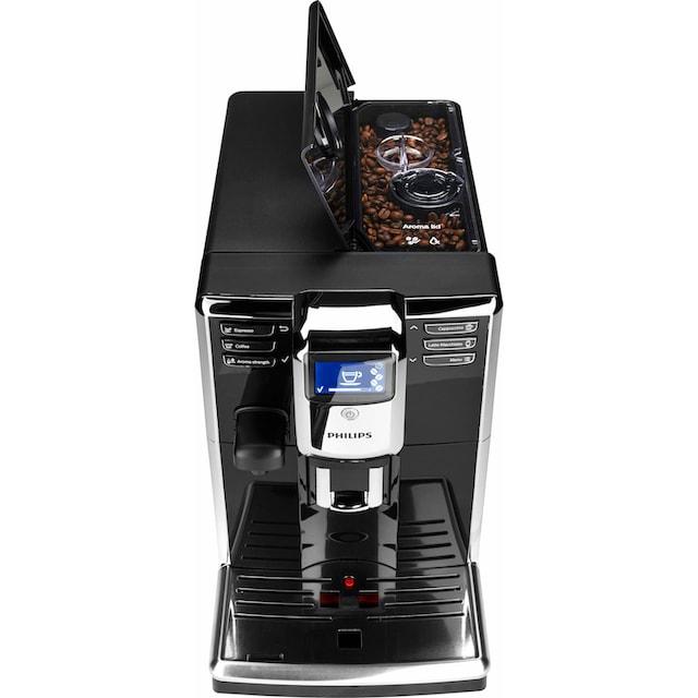 Philips Kaffeevollautomat 5000 Serie EP5960/10, 1,8l Tank, Scheibenmahlwerk