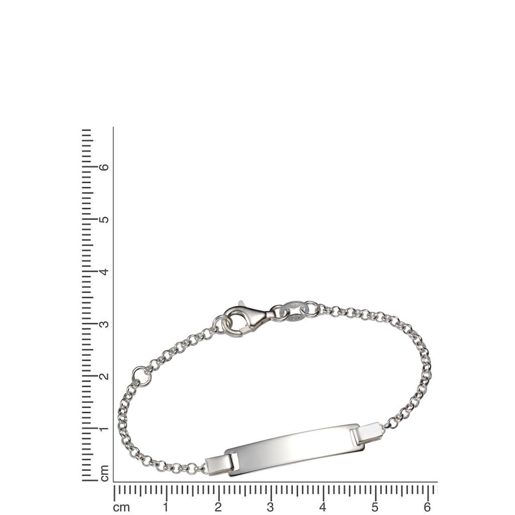 Firetti Silberarmband »ID-Armband mit Gravur, glänzend und massiv«