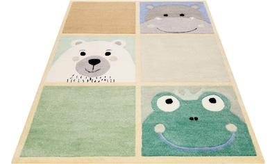SMART KIDS Kinderteppich »What's Up!?«, rechteckig, 9 mm Höhe, Kinder Tier Motive,... kaufen