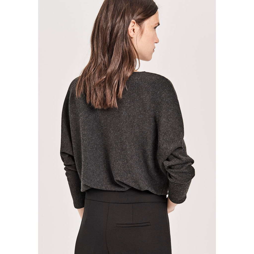 OPUS Sweatshirt »Galsta«, im Oversized Look