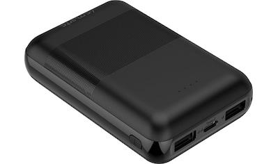 4smarts Powerbank »Powerbank VoltHub Go2 10000mAh schwarz«, 10000 mAh, 5 V kaufen