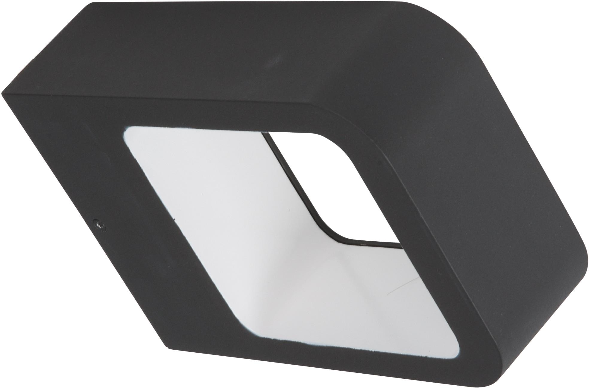 HEITRONIC LED Wandleuchte Juna, LED-Modul, 1 St., Warmweiß, Indirekter Lichtaustritt