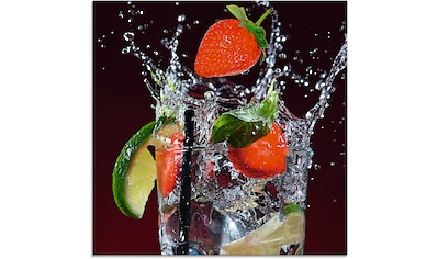 Artland Glasbild »Frischer Fruchtcocktail III«, Getränke, (1 St.) kaufen