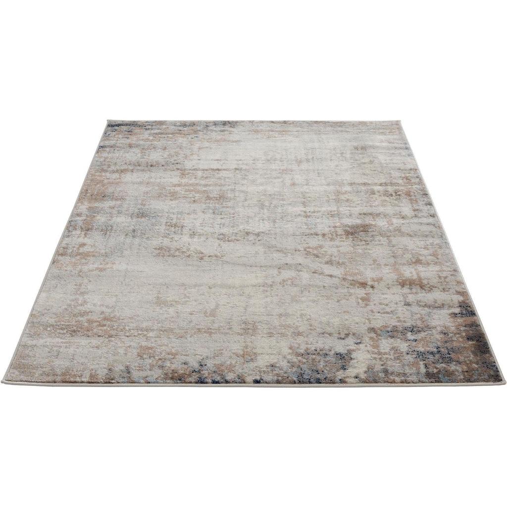 Sehrazat Teppich »Montana 3718«, rechteckig, 8 mm Höhe, Kurzflor, Vintage Design, Wohnzimmer