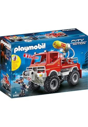 Playmobil® Konstruktions-Spielset »Feuerwehr-Truck (9466), City Action«, Made in Germany kaufen