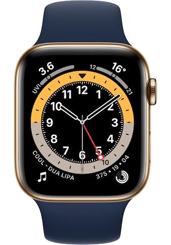 Apple Smartwatch »Watch Series 6«, (Watch OS inkl. Ladestation (magnetisches Ladekabel) kaufen