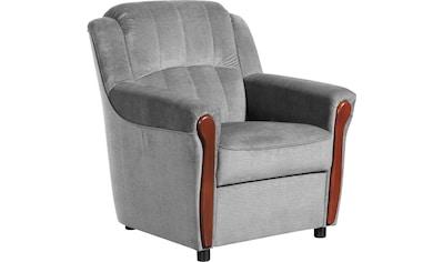 Max Winzer® Sessel »Trier«, mit Sichtholzschabracken kaufen