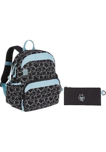 Lässig Kinderrucksack »4Kids Spooky Black, Medium Backpack«, Reflektoren kaufen