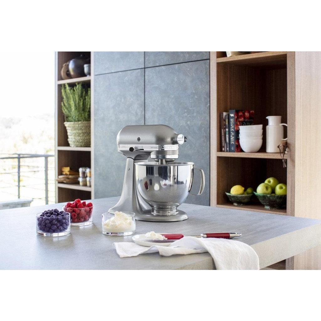 KitchenAid Küchenmaschine »Artisan 5KSM125ECU Kontur-Silber«, 300 W, 4,8 l Schüssel
