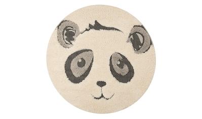 Kinderteppich, »Panda Pierre«, Zala Living, rund, Höhe 22 mm, maschinell gewebt kaufen