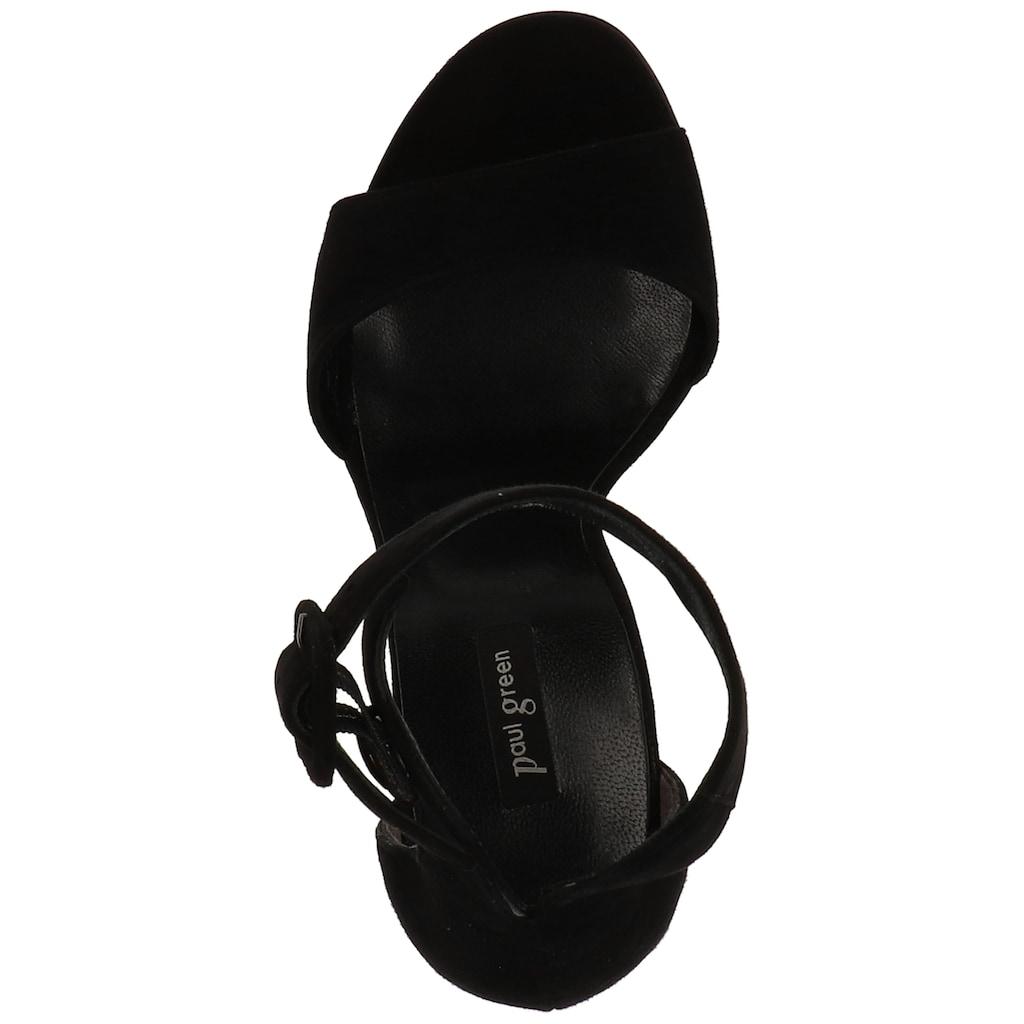 Paul Green High-Heel-Sandalette »Veloursleder«