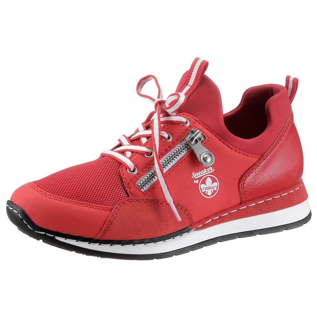 Rieker Slip-On Sneaker, mit Keilabsatz