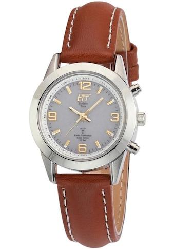 ETT Funkuhr »Gobi, ELS - 11268 - 11LE« (Set, 2 tlg., Uhr mit Ladelampe) kaufen