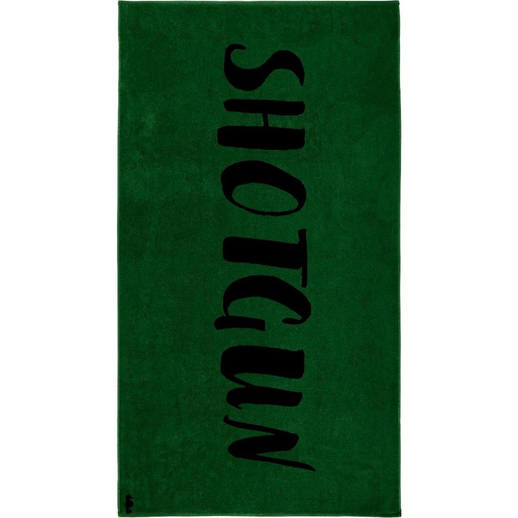 Seahorse Strandtuch »Shotgun«, (1 St.), mit Schriftzug