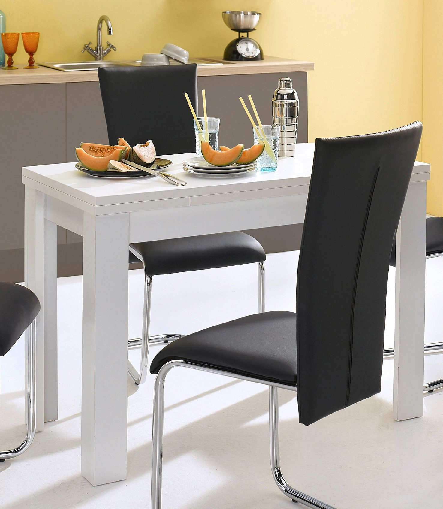 esstisch wei preisvergleich die besten angebote online kaufen. Black Bedroom Furniture Sets. Home Design Ideas