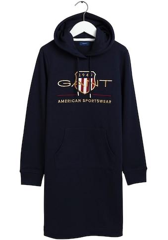 Gant Sweatkleid, mit großer Logo-Stickerei vorne kaufen