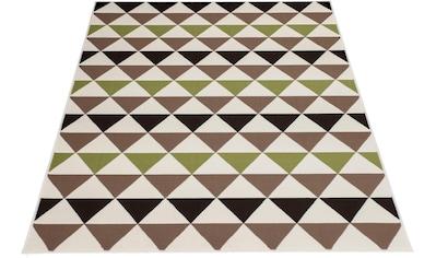 my home Teppich »Kendal«, rechteckig, 10 mm Höhe, Wohnzimmer kaufen