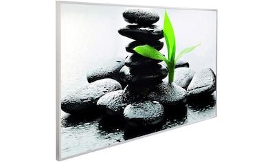 Papermoon Infrarotheizung »Zen Basalt Steine, EcoHeat«, Aluminium, 600 W, 100x60 cm,... kaufen