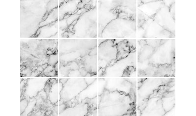 Fliesenaufkleber »Marmor« (Set, 12 Stück) kaufen