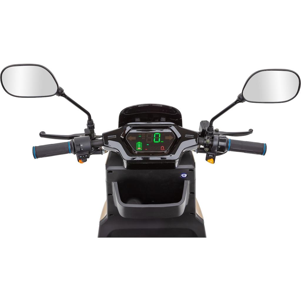 ECONELO Elektromobil »SF1000«, 1000 W, 25 km/h, (mit Topcase)