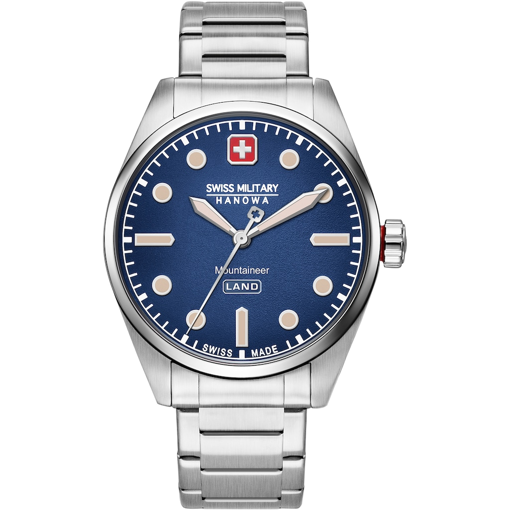 Swiss Military Hanowa Schweizer Uhr »MOUNTAINEER, 06-5345.7.04.003«