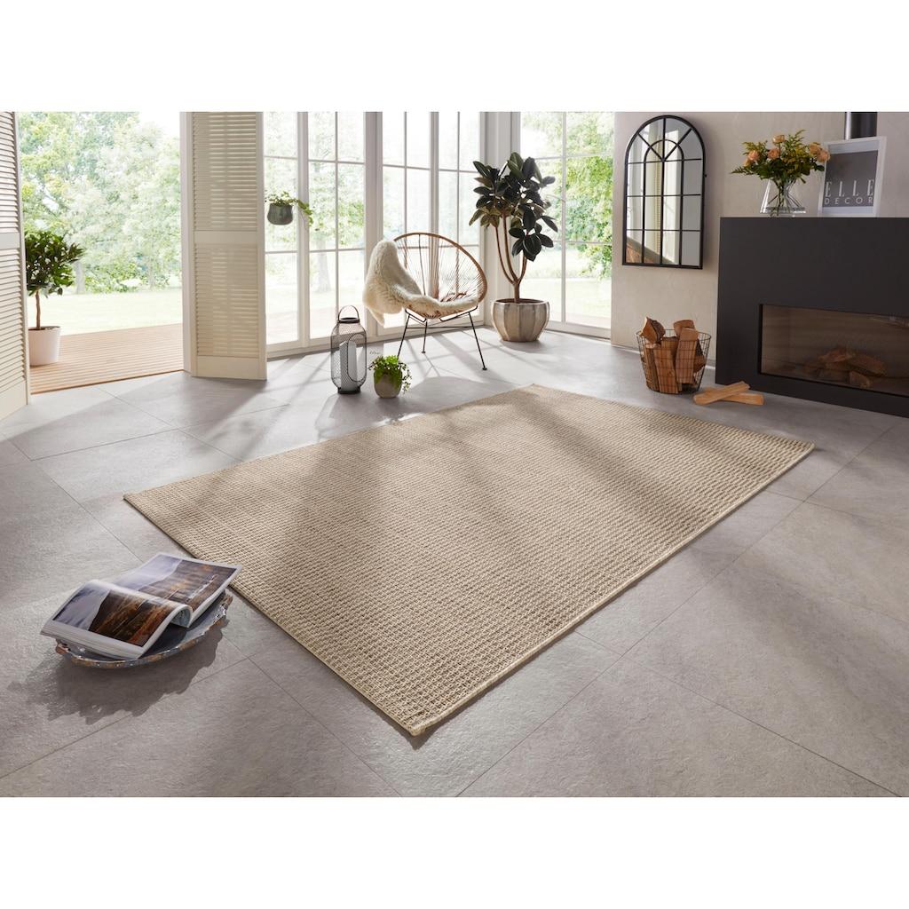 ELLE Decor Teppich »Dreux«, rechteckig, 8 mm Höhe, In- und Outdoor geeignet, Wohnzimmer
