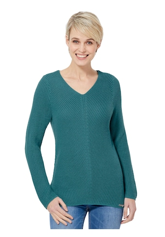 Casual Looks Pullover im dekorativem Strickmuster kaufen