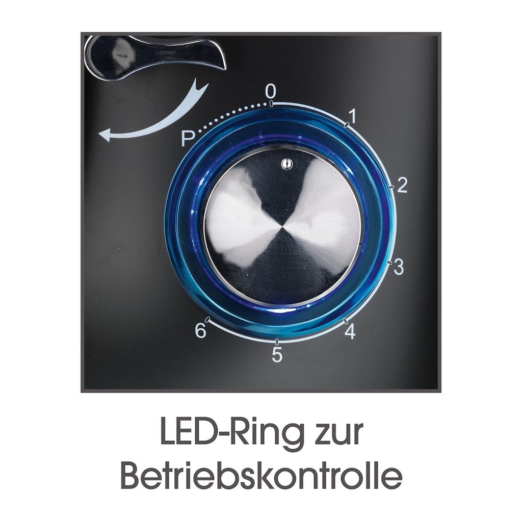 GOURMETmaxx Küchenmaschine »schwarz«, 1500 W, 5 l Schüssel