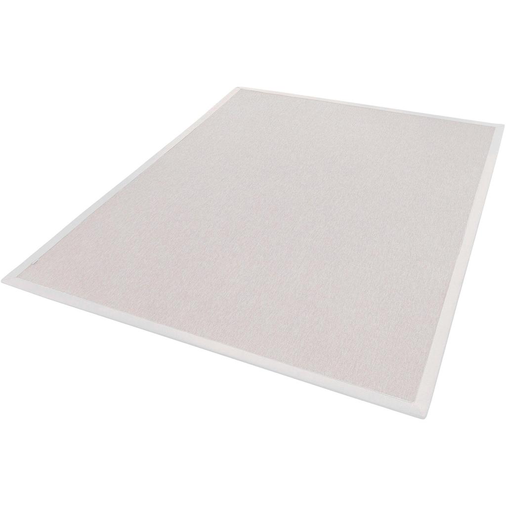 Dekowe Teppich »Naturino Rips«, rechteckig, 7 mm Höhe, Flachgewebe, Sisal-Optik, In- und Outdoor geeignet