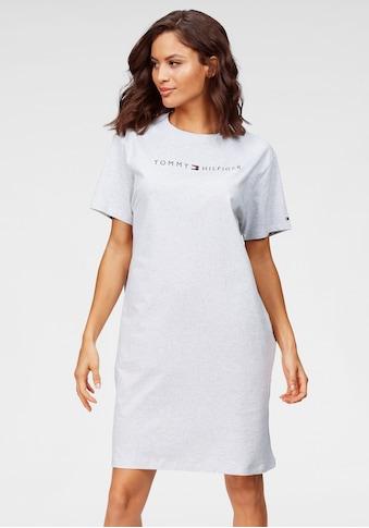 Tommy Hilfiger Sleepshirt, mit Rundhals und Frontdruck kaufen