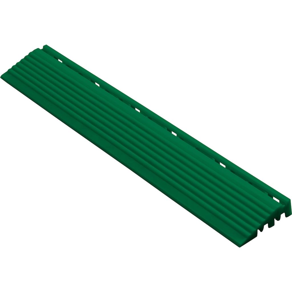 florco® Klickfliesen-Kantenleiste, Seitenteil grün, 40 cm
