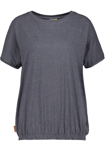 Alife & Kickin T-Shirt »DiniAK«, feminines Shirt mit Gumizug-Bund kaufen