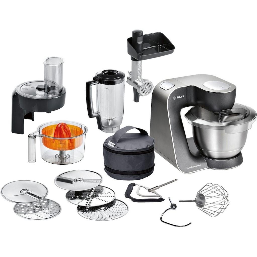 BOSCH Küchenmaschine HomeProfessional MUM57860, 900 Watt, Schüssel 3,9 Liter