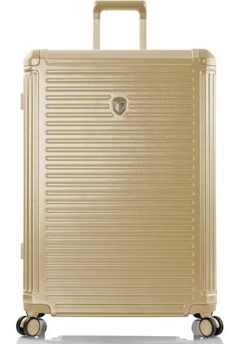 Heys Hartschalen-Trolley »Edge, 76 cm, Gold«, 4 Rollen kaufen