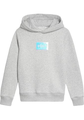 Calvin Klein Jeans Kapuzensweatshirt »MONOGRAM BADGE HOODIE« kaufen