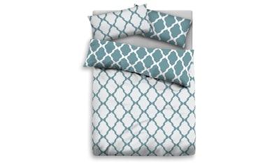 Home affaire Bettwäsche »Alba«, mit schönem schlichten Muster kaufen