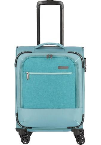 travelite Weichgepäck-Trolley »Arona, 55 cm, aqua«, 4 Rollen kaufen