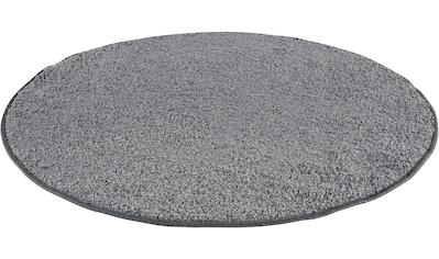 Teppich, »Shaggy uni«, Andiamo, rund, Höhe 15 mm, maschinell getuftet kaufen