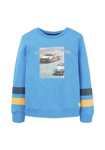 TOM TAILOR Sweatshirt »Sweatshirt mit Print« kaufen