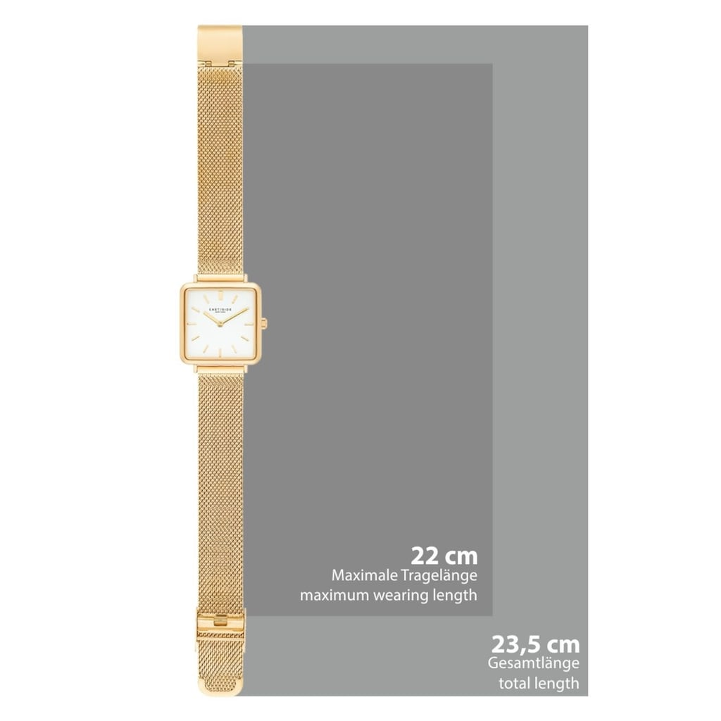 Eastside Quarzuhr »ES210«, (1 tlg.), mit Milanaise-Armband