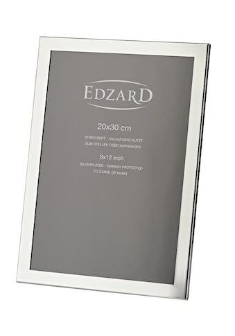 EDZARD Bilderrahmen »Prato«, für 20x30 cm Foto (ca. A4) - edel versilberter... kaufen
