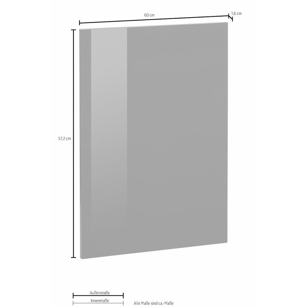OPTIFIT Frontblende »Bern«, für teilintegrierbaren Einbaugeschirrspüler, Höhe 57,2 cm