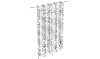 Eisl Duschvorhang »Mosaik«, Breite 180 cm, graues Mosaik-Design kaufen