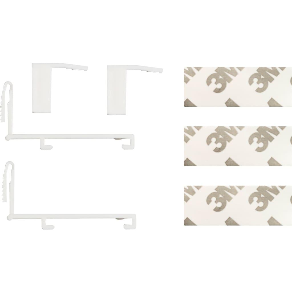 my home Doppelrollo »Belem«, Lichtschutz, ohne Bohren, freihängend, im Fixmaß
